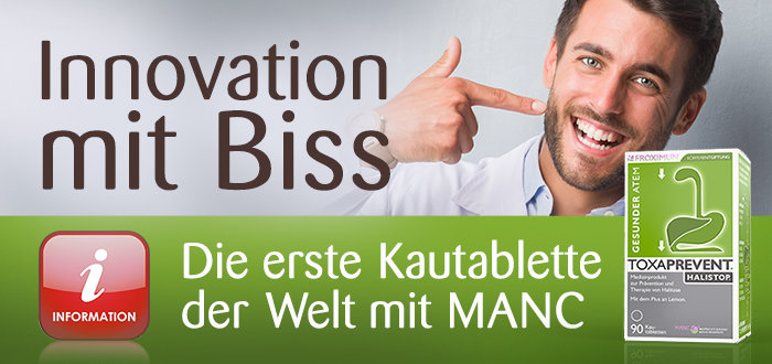 Halistop - Innovation mit Biss